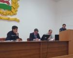 Состояние источников наружного противопожарного водоснабжения на территории Ленинского района обсуждалось на заседании районного штаба