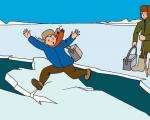 Осторожно, тонкий лед! Правила поведения и спасения на льду