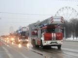 Пожарные МБУ УПО г. Уфы  приняли участие во Всероссийском параде коммунальной  техники