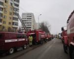 Пожарно-спасательные подразделения ликвидировали пожар в многоквартирном доме в Уфе