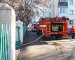 Возгорание в здание детского сада № 66 в Уфе. Пострадавших нет.
