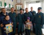 дети сотрудников побывали на экскурсии в ПСЧ -32