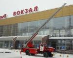 год Культуры безопасности: пожарно-тактические учения на Железнодорожном вокзале Уфа