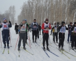 Соревнования по лыжной эстафете  на первенство ФГКУ «22 отряд ФПС по Республике Башкортостан»