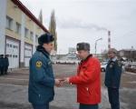 Начальник главного управления МЧС России по Республике Башкортостан вручил  награды личному составу 22 отряда