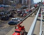 в Уфе прошли масштабные пожарно-тактические учения на торгово-развлекательном комплексе «Иремель»