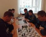 В шахматном турнире среди подразделений 22 отряда  победу одержала команда ПЧ-2