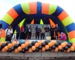 Сотрудники  22 отряда приняли участие в уфимской легкоатлетической эстафете