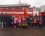 Школьники посетили пожарную часть № 7