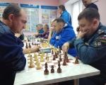 Серебряные призёры шахматного турнира среди подразделений ГУ МЧС России по Республики Башкортостан