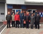 День пожилого человека: сотрудники  22 отряда поздравили ветеранов