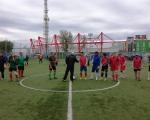первый день соревнований по мини футболу среди подразделений 22 отряда